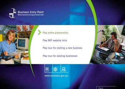 Business Entry Point