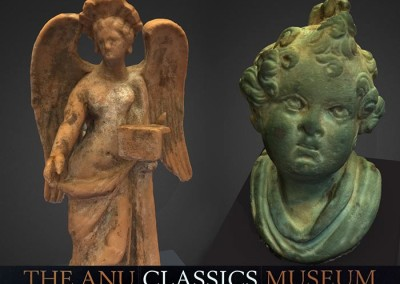3D scanning and interactive touch screen for the ANU Classics Museum